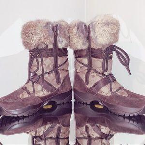 Coach Sahara Boots